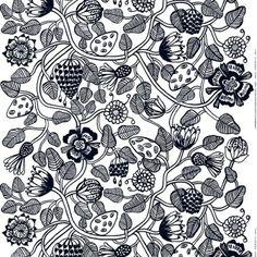 Tiara fabric by Erja Hirvi for Marimekko