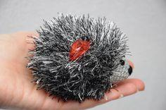 Darček pre deti, hračky háčkovanie ježko Plushie vypchaté zviera darček k narodeninám háčkovanie hračky Detská darček Batoľa darčeky a batoľatá Woodland dievča darčekové