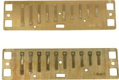 "Lee Oskar Reed Plates Natural Minor A by Lee Oskar Harmonicas. $26.45. Lee Oskar provides players with a better option. Replacement reed plates make it easy to create a ""new"" harmonica at about half the cost!    Original comb and cover plates are recycled into the rebuilt harp. This simple process involves only three screws and two nuts and bolts.  Now that makes a lot of sense!    Replacement Reed Plates in every key are an exclusive feature of Lee Oskar Harmonicas."