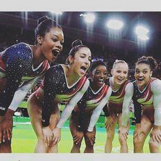2016 USA Women's Gymnastics Team ... GOLD ...