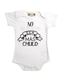 Body original manga corta para bebé niño chulo e1c29a6c6d2