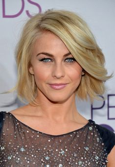 Julianne Hough short hair - pretty sure if my hair looked like this short, it'd still be short....