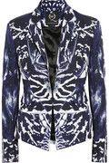 MCQ Alexander McQueen Kaleidoscope printed cotton-blend twill jacket $1495