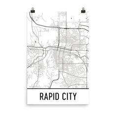 City Prints Map Art on
