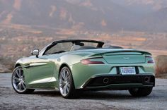 2014 Aston Martin Vanquish Volante issue can be called the most beautiful car on the road. Double Volante looks amazing