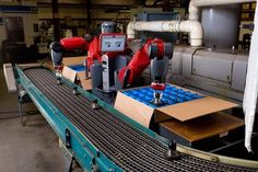 Baxter, Industrial Robot, factory, two-armed robot, workspace