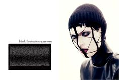 November 2012, Black fascination. Photos by Paolo Roversi - click on the photo to see the complete story