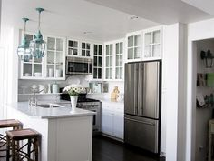 Coastal Kitchen Ideas | Grace and Collin's Coastal Cottage House Tour | Apartment Therapy