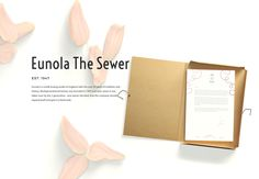 "Check out this @Behance project: ""Eunola The Sewer"" https://www.behance.net/gallery/48000083/Eunola-The-Sewer"