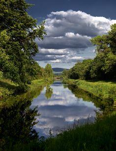 Grand Canal, Kildare, Ireland.