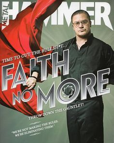 Mike Patton - Faith No More Metal Hammer Classix Rock Magazine