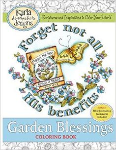 Amazon.com: Garden Blessings: Scriptures and Inspirations to Color Your World