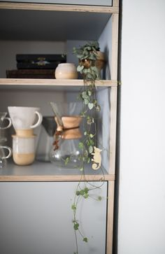 Cool Styling For A Gray Kitchen Bookshelf The Custom From Tylko With Its