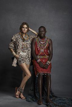 Olivia Palermo is Pikolinos' Maasai Project ambassador