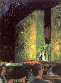 J. Czapski, Opera Foresta a Sopot, 1937, olio su tela