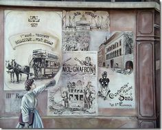 Les murs peints de Lyon