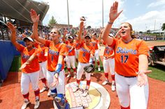 Kirsti Merritt hit a 3-run home run as the Gators won the 2014 National Championship on Tuesday.