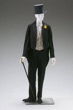 Formal Suit 1885-1900 The Mint Museum