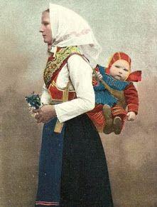 Mora, Sweden. #Babywearing #babywearingworldwide #historicalbabywearing