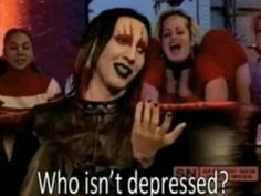 i think i know one person who isn't depressed. Current Mood, My Mood, Whatever Forever, Believe, Aesthetic Grunge, Ms Gs, Reaction Pictures, Movie Quotes, Tv Quotes