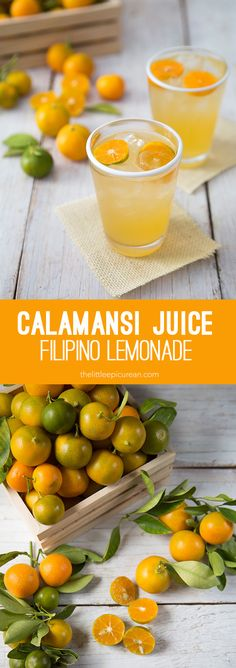 Calamansi Juice (FIlipino Lemonade)