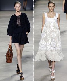 on the right, white frilly thing, chloe-2006-5 from {this is glamorous}, via Flickr