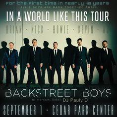 GIVEAWAY: Backstreet Boys & DJ Pauly D Tickets