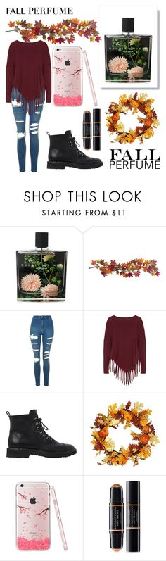 """""""Fall Perfume 🎃🍁🍂"""" by gsusan ❤ liked on Polyvore featuring beauty, Nest Fragrances, Nearly Natural, Topshop, Boris, Giuseppe Zanotti and Christian Dior"""