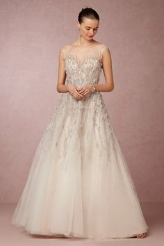 Wisteria Gown; I like the sparkle and shape of the dress. Would like it in white.