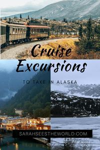 Overwhelmed by the number of cruise excursions in Alaska on offer, I asked some expert travellers what the best Alaska cruise excursions they did were. Cruise Excursions, Cruise Destinations, Shore Excursions, Cruise Travel, Cruise Vacation, Travel Usa, Travel Tips, Travel Advice, Travel Guides