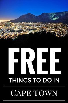 Free things to do in Cape Town when you only have 48 hours to spend, via Eager Journeys: http://eagerjourneys.com/48-hours-cape-town/