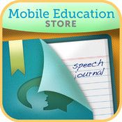 Speech Journal - nice little app to record voice to pics good for digital storytelling