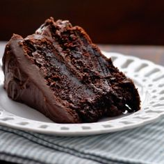 Moist Chocolate Cake - FOODGAZM..