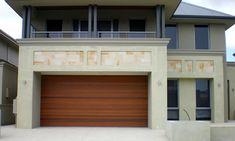 Custom Garage Doors Perth by West Coast Garage Doors Timber Garage Door, Custom Garage Doors, Garage Door Design, Custom Garages, Sectional Garage Doors, Laser Cut Panels, Ultimate Garage, Entrance Doors