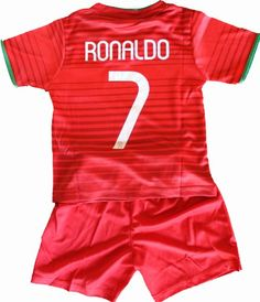 2014 Cristiano Ronaldo Home Portugal Football Soccer Kids Jersey & Short FREE PORTUGAL GIFT (1-2 YEARS) FPF http://www.amazon.com/dp/B00JJ4NYNS/ref=cm_sw_r_pi_dp_GRzZtb162KNNNBMS