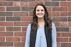 """Faces of Marian    #SabreNeighbor #FacesofMarian  Molly Kovarik is a senior at Marian University majoring in forensic science with a double minor in chemistry and biology. Molly is a member of the Forensic Science Association and has played basketball and soccer for Marian for the past four year.   """"I grew up in a small town, Lake Geneva, in southern Wisconsin with 3 siblings. Growing up was hectic. But I played sports and was involved when I was younger. My parents own a hardware store, so…"""