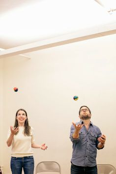 A CUP OF JO: Juggling date