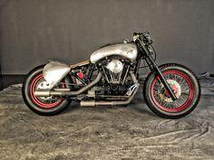 Cafe racer Harley Davidson ECKILA by Moto Sumisura #bobber #motosumisura #caferacer #motorcycles