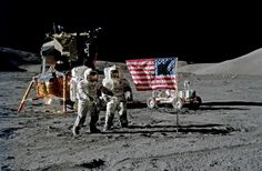 Apollo 17 the last manned mission to the moon in... - Historical Times