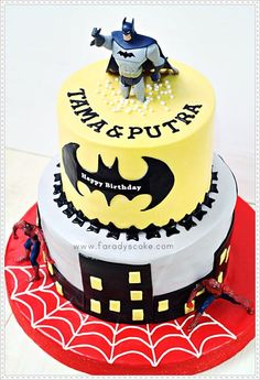 Batman & Spiderman « Faradyscake