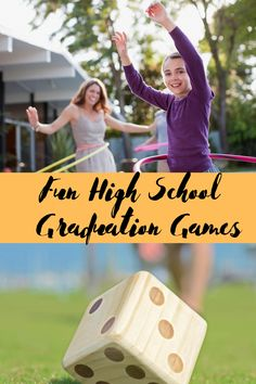 Outdoor Graduation Party Games + Activities - Peachy Party Outdoor Graduation Parties, Graduation Party Games, Bachelorette Party Games, Graduation Ideas, Activity Games, Fun Games, Activities, Outdoor Games To Play, Summer Party Games