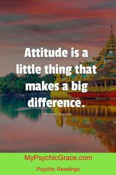 Attitude ... Psychic Readings, Winston Churchill, Attitude, Journey, Life, The Journey