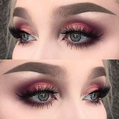 All this stuff is making me old, It's dangerous to live I am told. This planet looks so cute but it's cold. I used @inglot_cosmetics eyeshadows 314+329+395, blush 63 and body sparkles 66   @anastasiabeverlyhills dipbrow pomade, browwiz and brow powder all in taupe   @slaylashes in guilty ✨ #fiercesociety #dressyourface #wakeupandmakeup #vegas_nay #hudabeauty #makeupartistsworldwide #makeupartist #makeupmafia
