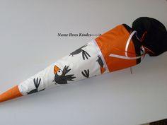 *Versandfertig* Schultüte auf Wunsch mit Namen von Fareimli-handmade auf DaWanda.com