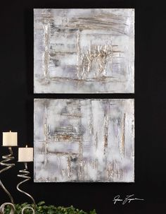 """Uttermost - above fireplace - option 1  Dimensions: 20"""" W x 24 H x 2 D"""