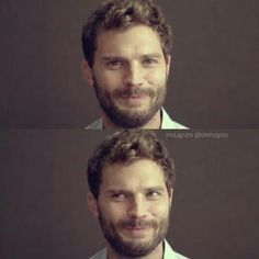 That impish expression of his...#JamieDornan