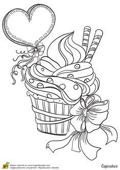 Cupcake Coeur Et Fleurs, page 4 sur 12 sur HugoLescargot.com