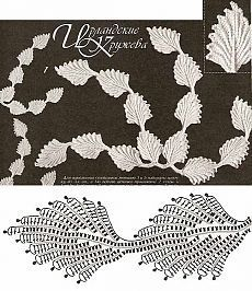 70 super Ideas for crochet lace irish link Crochet Leaf Patterns, Crochet Lace Edging, Crochet Leaves, Crochet Motifs, Crochet Borders, Freeform Crochet, Crochet Diagram, Crochet Chart, Crochet Designs