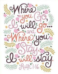 where you go I will go.