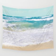 Buy The Ocean by Sharon Mau as a high quality Wall Tapestry. Worldwide shipping available at Society6.com. Just one of millions of products available.
